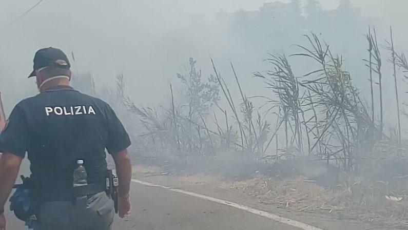 La Calabria brucia ancora, molti i roghi attiviLe province più colpite sono Cosenza e Reggio