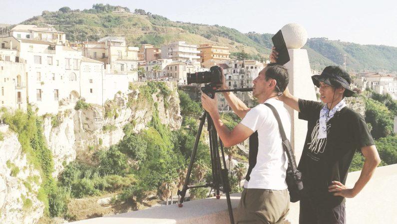 Televisione giapponese incantata dalla CalabriaGirato un documentario tra Scilla e Tropea