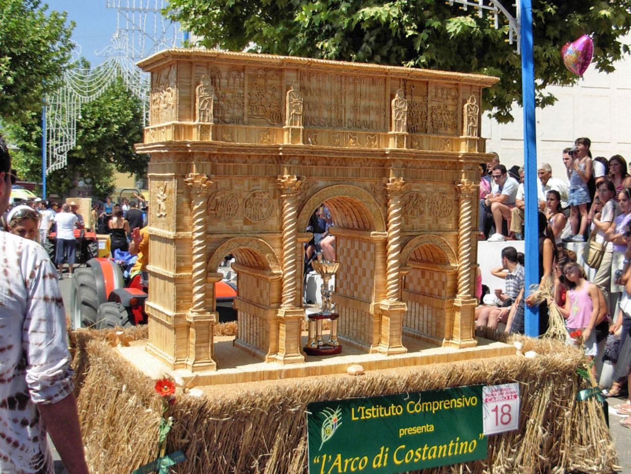 Carri di grano di Foglianise dedicati ai terremotati del Centro Italia