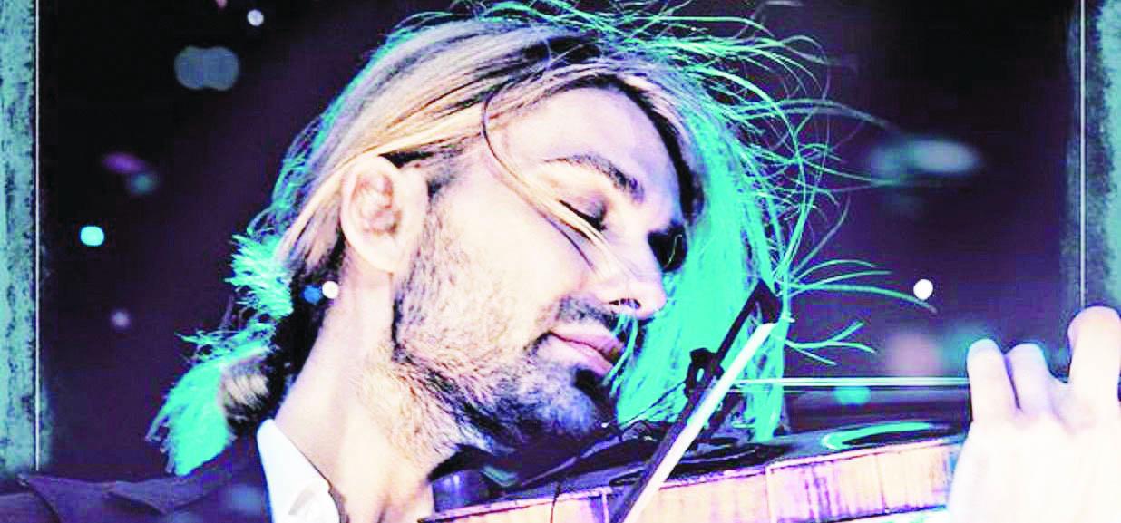 Catanzaro, tutto pronto per David Garrett: al parco Scolacium il concerto del violinista