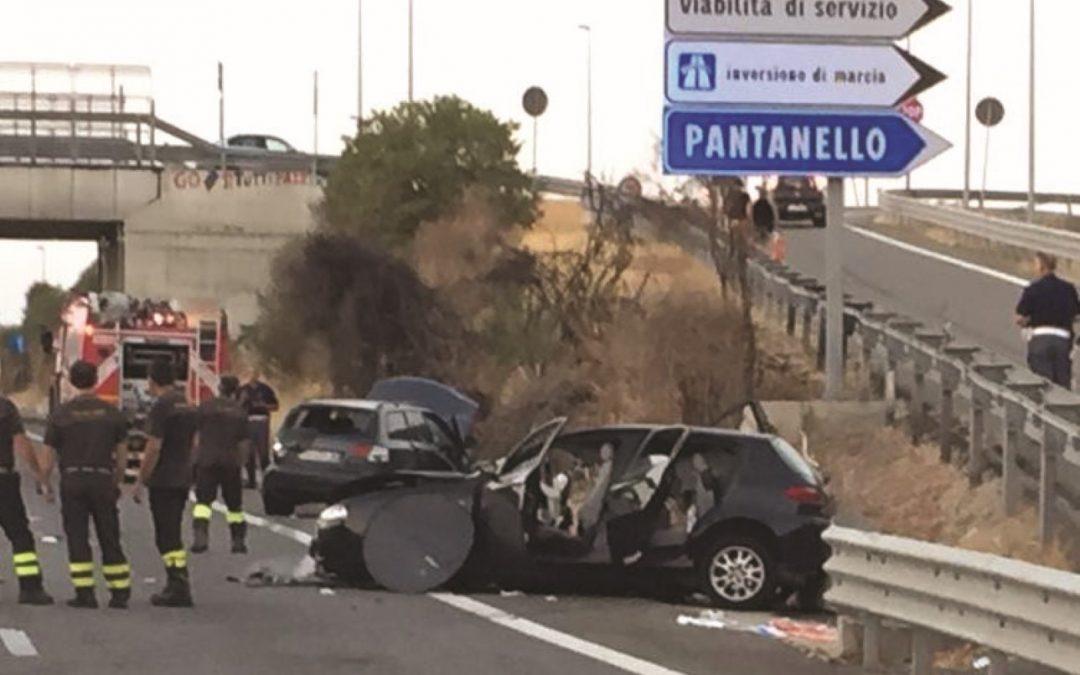Domenica di sangue in Basilicata: 2 morti e 12 feriti  Tre incidenti su Matera-Metaponto, Ofantina e Jonica