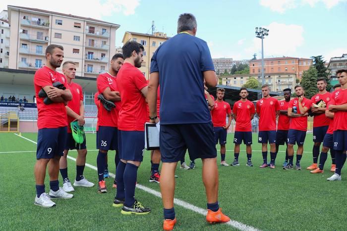 Calcio, il Potenza si presenta al pubblico nel quartiere Poggio Tre Galli