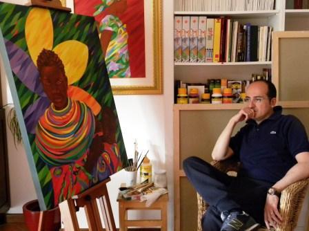 A San Lucido l'Africa dipinta da Massimo MelicchioLa mostra dell'artista per conoscere il Continente Nero