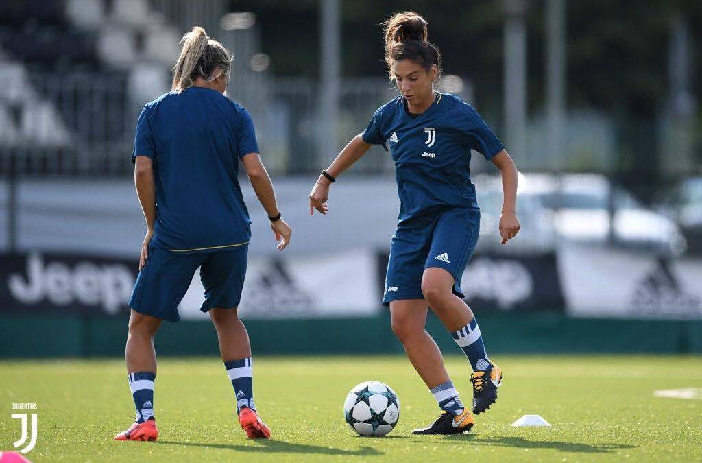FOTO – Michela Franco, centrocampista della Juventus femminile dal sangue calabrese