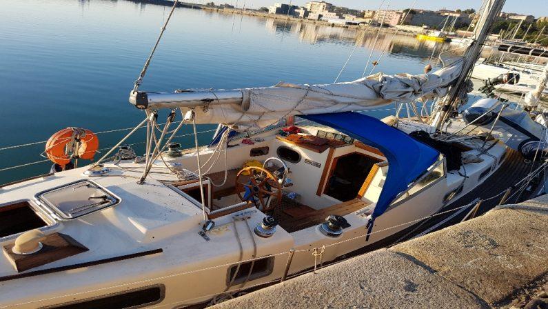 Ancora uno sbarco di migranti sulle coste calabresiVeliero intercettato al largo del Crotonese