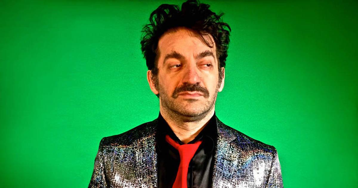 Peppe Voltarelli, sul palco del Joggi Avant Folk il 18 agosto