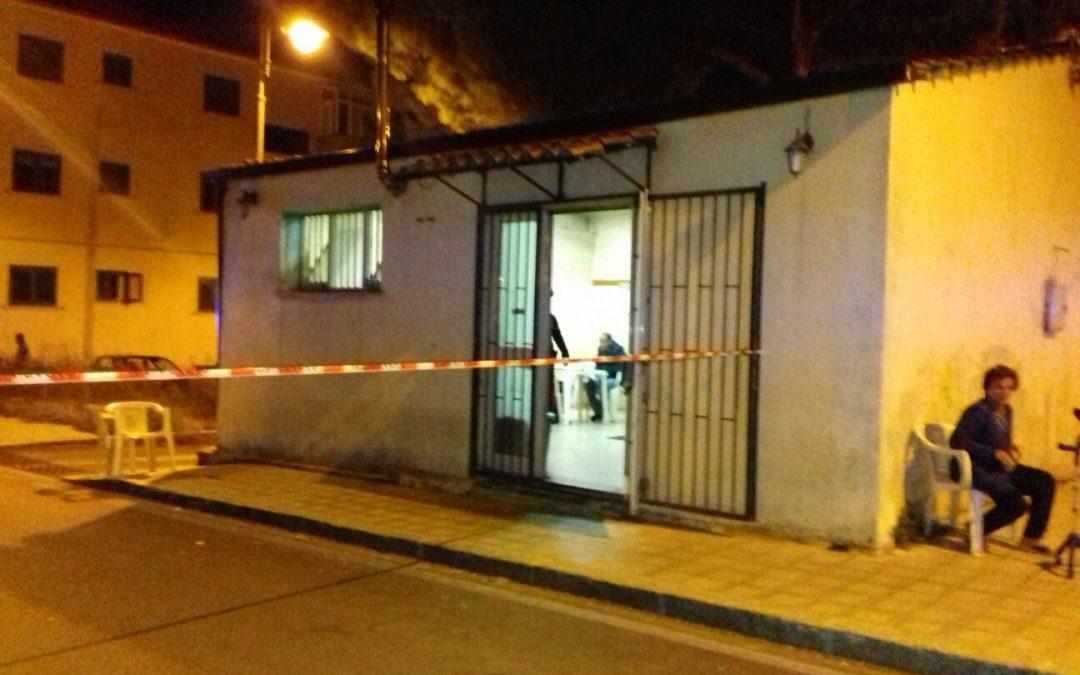 Il bar dove è avvenuta la sparatoria