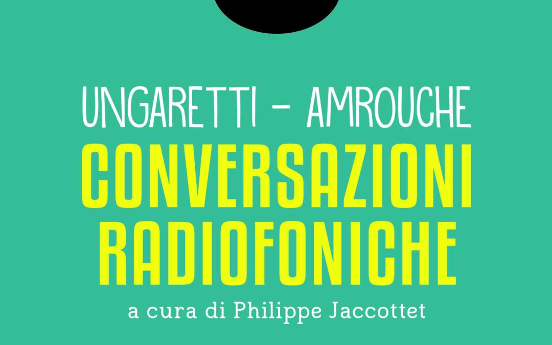 La copertina di «Conversazioni radiofoniche» (ed. Universosud)