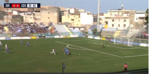 VIDEO – Calcio Serie C, gli highlight della sfida tra Siracusa e Cosenza