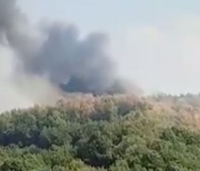 VIDEO - Incendio alle porte di CosenzaLe fiamme sempre più vicine all'abitato