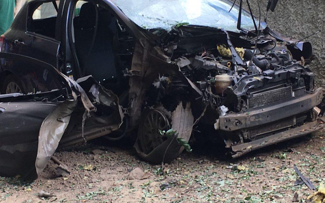 Esplode nella notte l'automobile della moglie del sindaco, paura a Taurianova