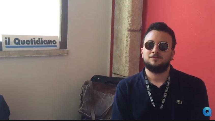 VIDEO – Mattia Labadessa alla Fiera del Fumetto  parla del suo nuovo volume in uscita per Shockdom