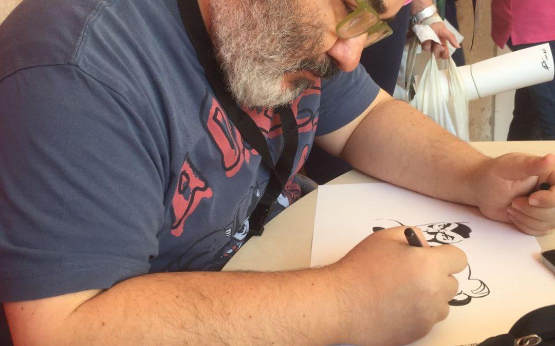 VIDEO – Festival del Fumetto di Cosenza, Giuseppe Palumbo e le tavole di Diabolik