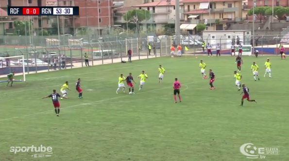 VIDEO - Calcio Serie C, gli highlight della sfida tra Racing Fondi e Reggina