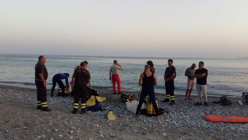 Ritrovato corpo del sub disperso in mare nel RegginoTragedia dopo immersione effettuata nel pomeriggio