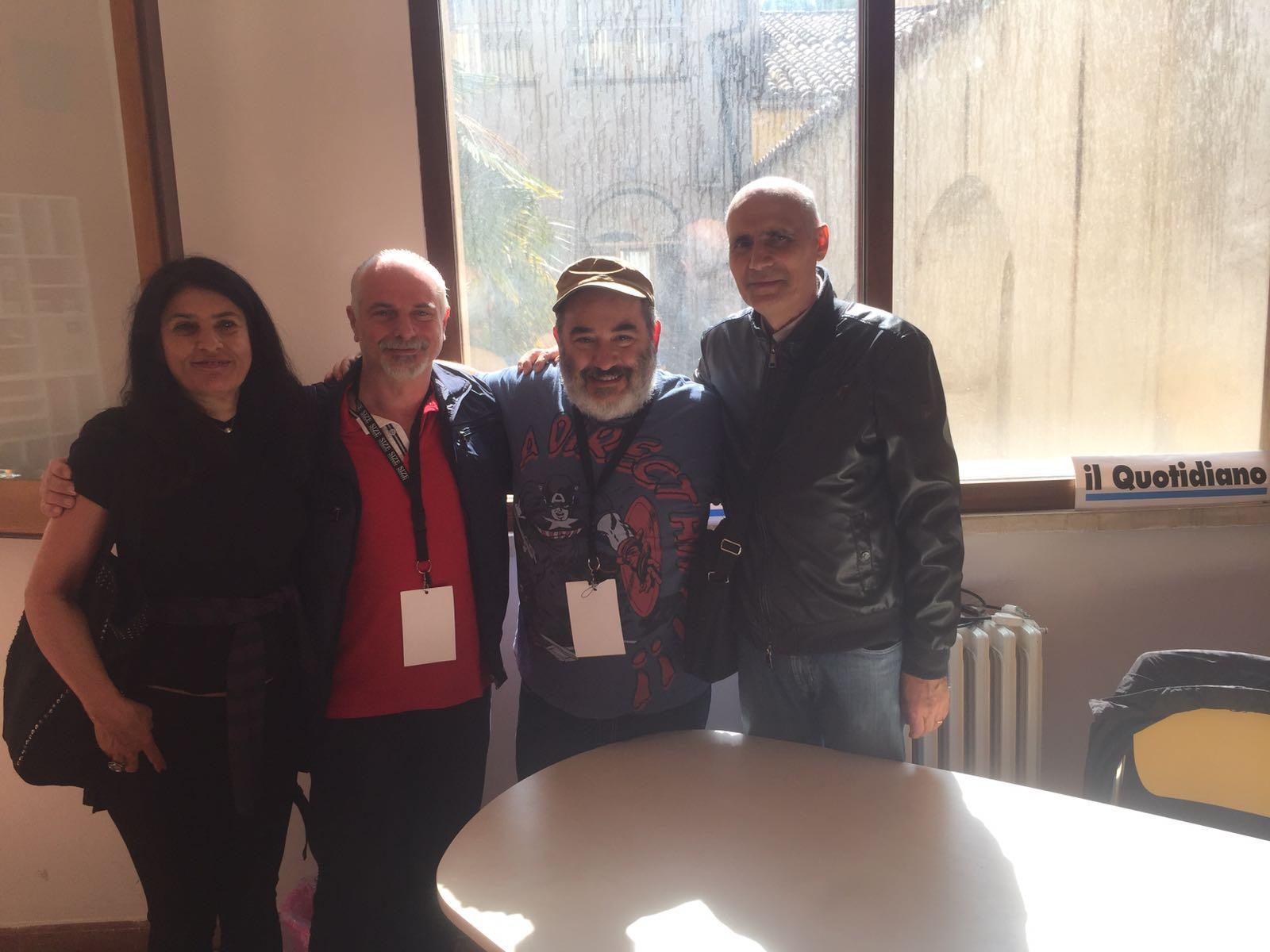 VIDEO - Peppe De Nardo, autore di Dylan Dog, al Festival del Fumetto di Cosenza