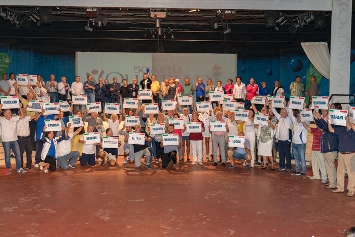 Nel Crotonese le Olimpiadi dedicate agli over 50Tra gli atleti di tutta Italia anche una 94enne