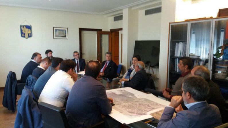 FOTO - Trasversale delle Serre, i sindaci del Vibonese incontrano l'Anas