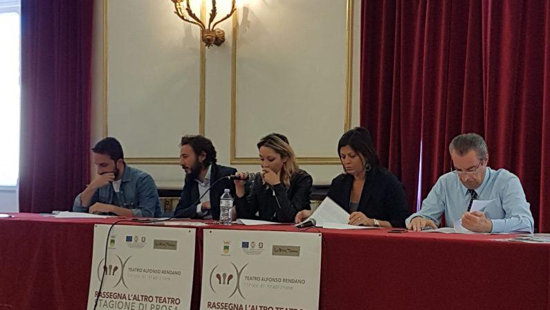 VIDEO - Presentata a Cosenza la stagione di prosa del teatro Alfonso Rendano