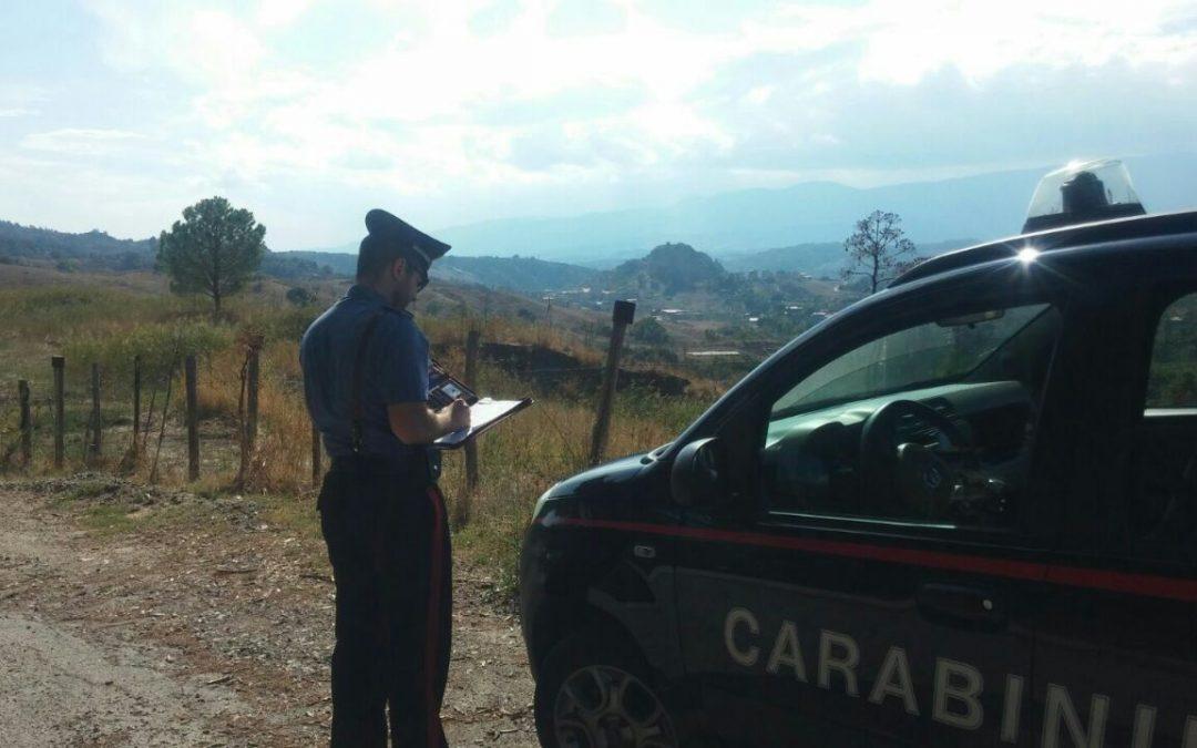 Alcuni controlli dei carabinieri