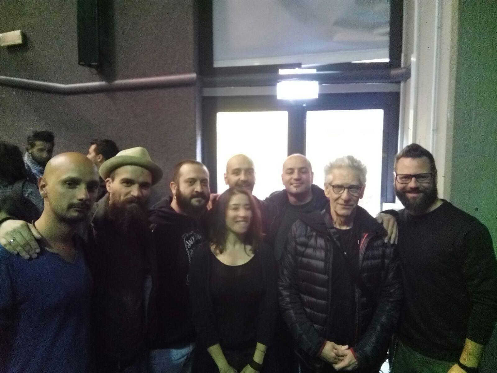 E in aula spunta David Cronenberg: il regista cult all'Unibas per una conferenza