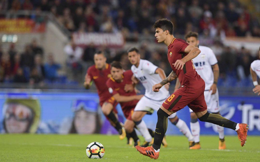 FOTO – Crotone sconfitto di misura all'Olimpico, Perotti su rigore regala i tre punti alla Roma