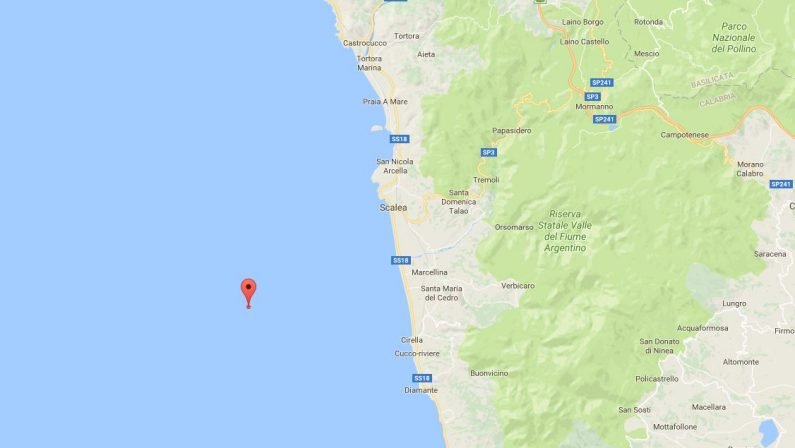 Scossa sismica al largo della costa calabreseRegistrata una magnitudo di 3.7 gradi