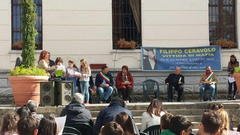 Il ricordo di Filippo, a Soriano la manifestazionein memoria del giovane ucciso per sbaglio nella faida