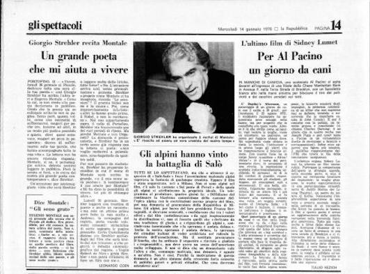 Orazio Gavioli, decano (dimenticato) del giornalismo. Un ricordo a 20 anni dalla morte