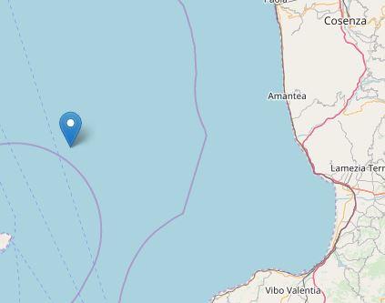 Serie di scosse tra costa Calabria e le Isole EolieIn mattinata gli ultimi due terremoti in mare