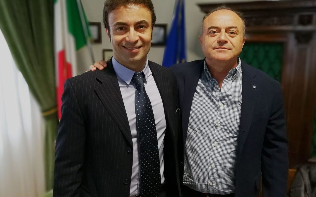 Il procuratore Antonio De Bernardo insieme al procuratore generale Nicola Gratteri