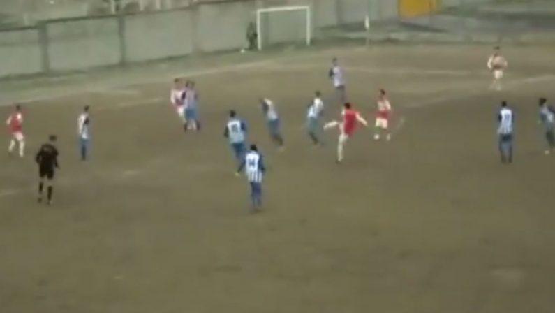 VIDEO - Lo splendido gol da cineteca di PerciaccanteIl giocatore del Cassano Sybaris protagonista tra i dilettanti