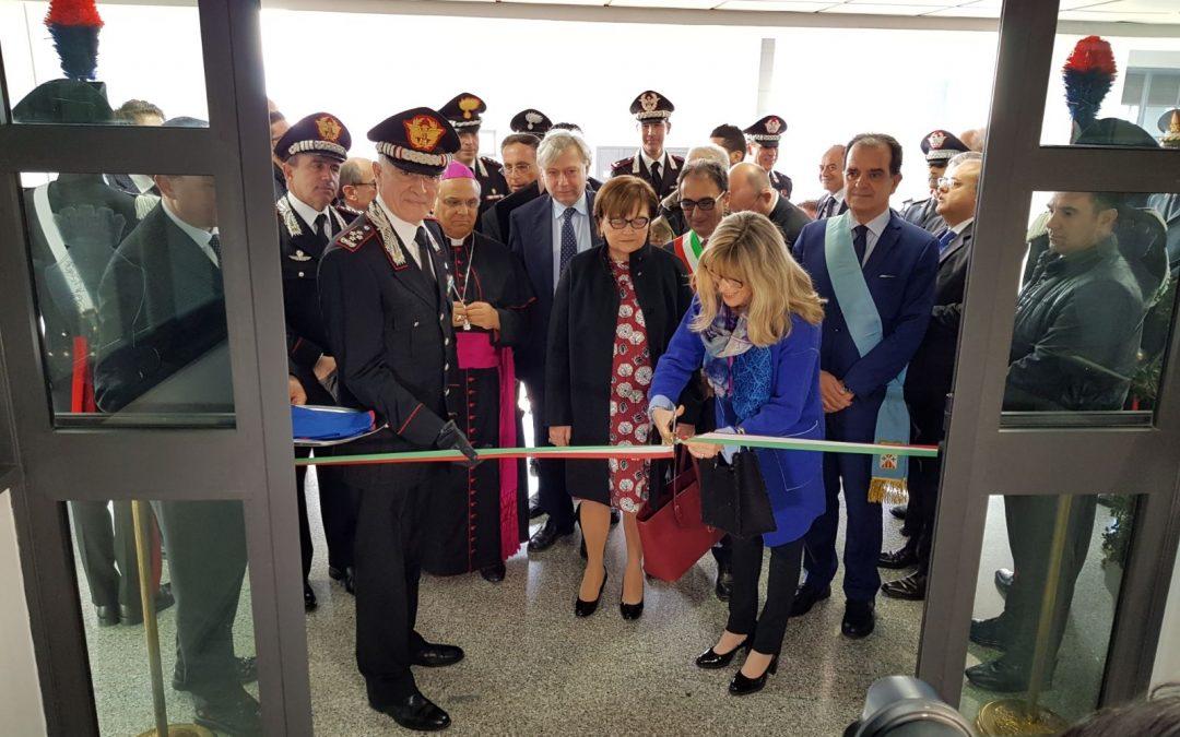 L'inaugurazione della sede di Catanzaro