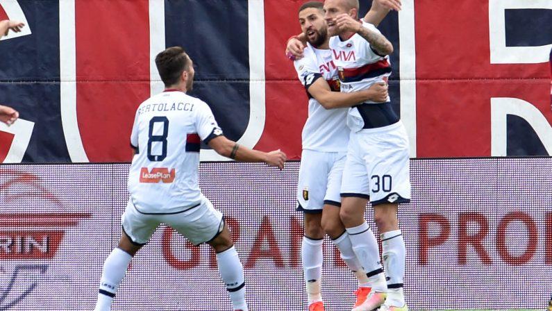 Serie A, il Crotone battuto in casa dal Genoa  Brutta sconfitta per i calabresi: gol di Rigoni