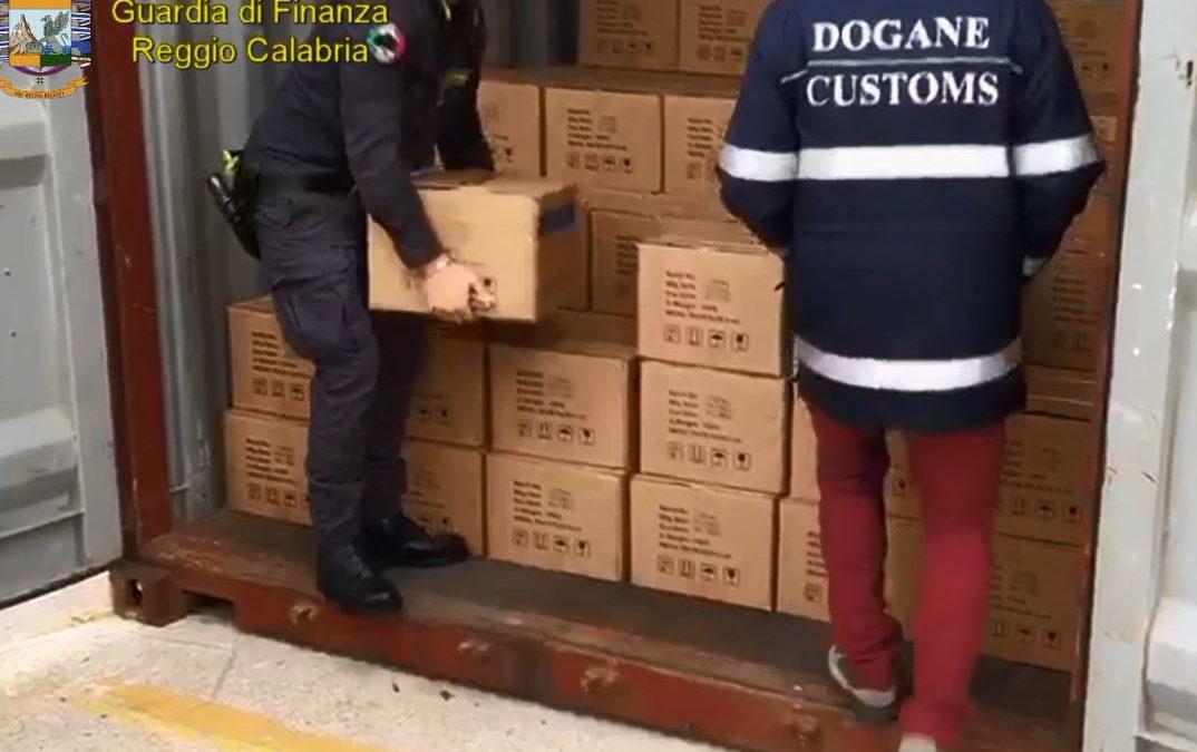 Cocaina purissima nel container della carne surgelata, sequestrati 61 chilo nel porto di Gioia Tauro