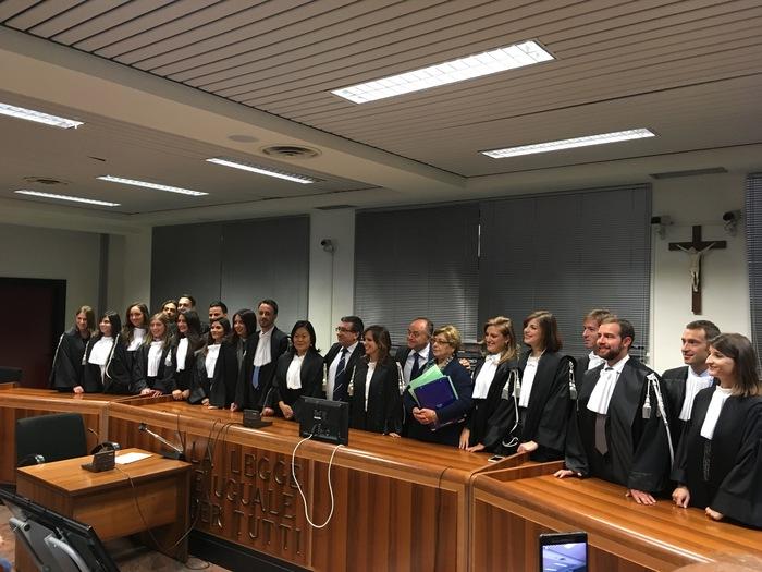 Il giuramento dei nuovi magistrati