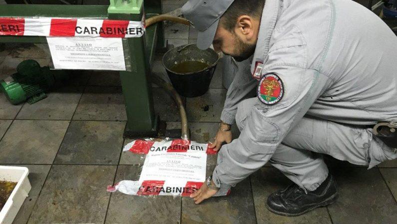 Liquidi dei frantoi finivano nei torrenti, sequestriDue strutture individuate in provincia di Cosenza