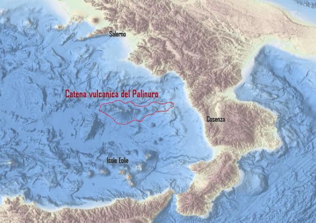 La scoperta: una catena di vulcani nel Mare TirrenoL'Ingv svela la presenza fino alla costa cosentina