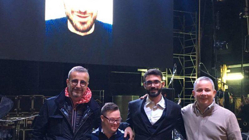 FOTO - Al Politeama di Catanzarola reunion dei musicisti che accompagnavano Pino Daniele