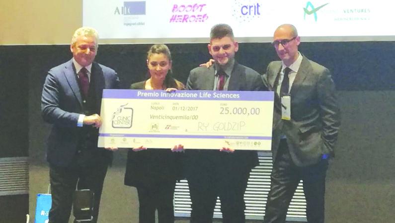 Premio nazionale innovazione, vittoria a una startup calabreseRy Goldzip cura le ulcere da diabete con la cipolla rossa di Tropea
