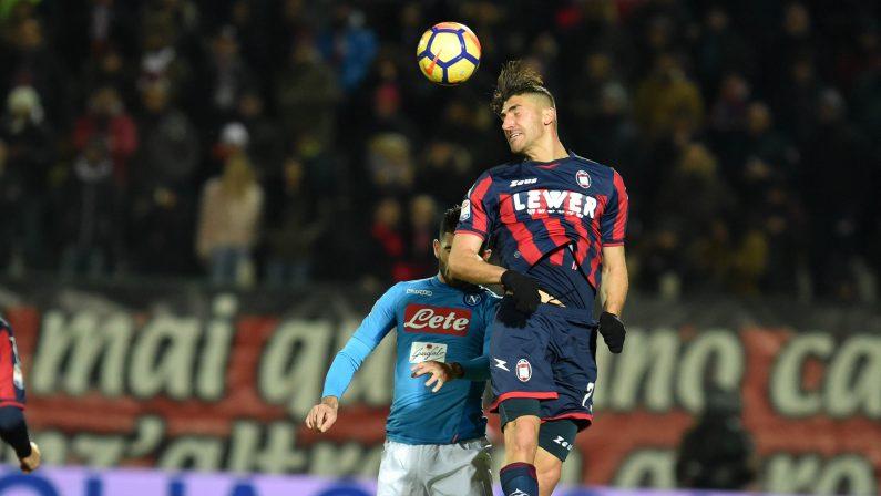 Serie A, il Crotone prepara la sfida di San SiroTrotta:«Daremo il massimo contro il Milan»
