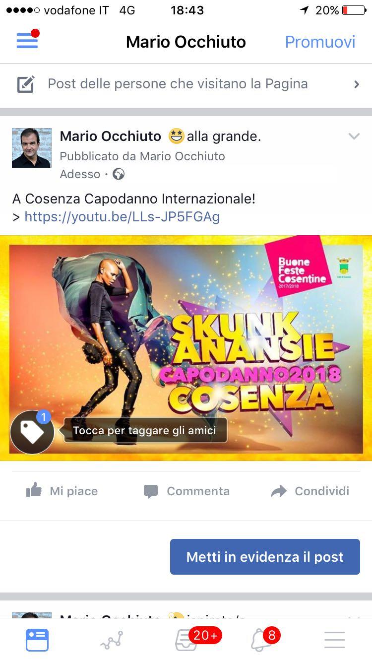 La sorpresa del Capodanno internazionale a CosenzaIl sindaco annuncia il concerto diSkunk Anansie