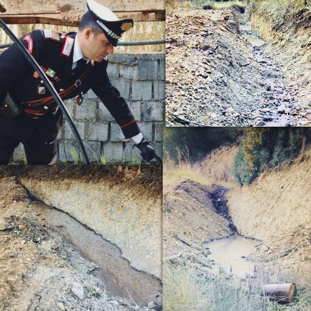 Scarichi abusivi di reflui di un frantoio in provincia di Cosenza, struttura sequestrata