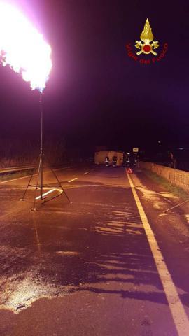 Incidente cisterna di gas a Strongoli