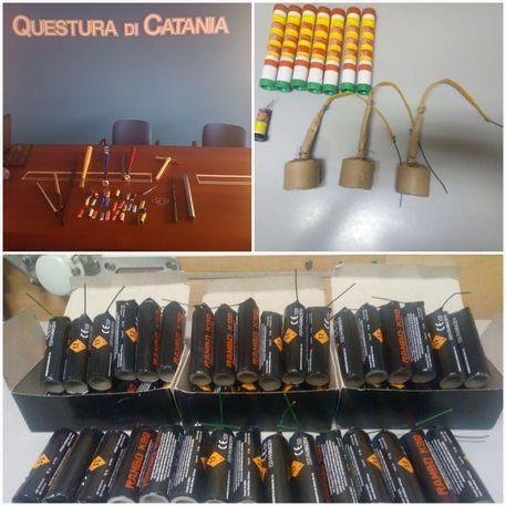 Tifoso del Matera arrestato, 33 denunciati a Catania: avevano 52 bombe carta e 10 mazze da baseball