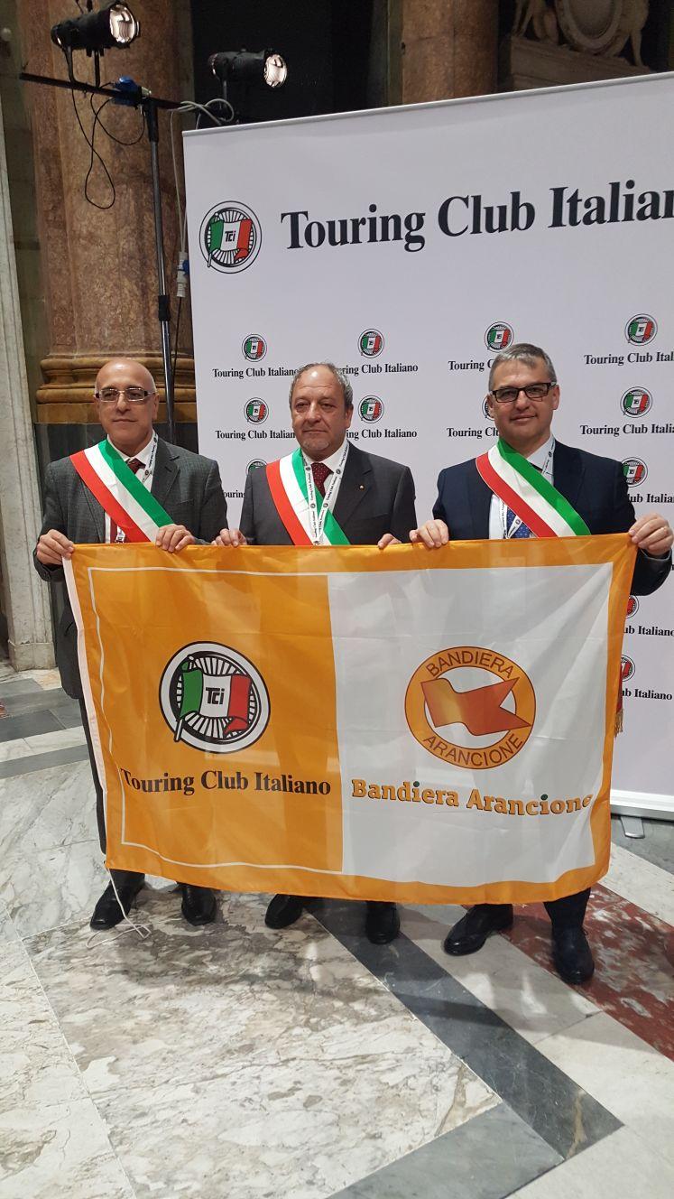 A Valsinni, Guardia Perticara e Aliano la Bandiera Arancione del Touring Club Italiano per il triennio 2018-2020