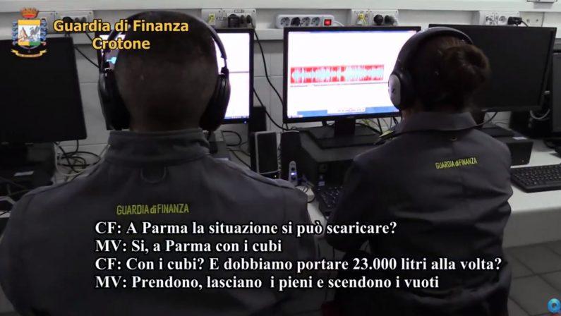 FOTO - Scoperto contrabbando di falso gasolioLe immagini dell'intervento della Finanza