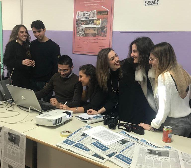 FOTO – La lunga notte del Liceo Classico Galluppi a Catanzaro  Le immagini dei ragazzi impegnati nelle diverse attività
