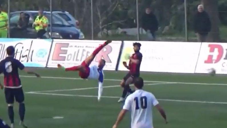 VIDEO - Ortolini, gol spettacolare. Una perla in Serie D durante Cittanovese-Gelbison
