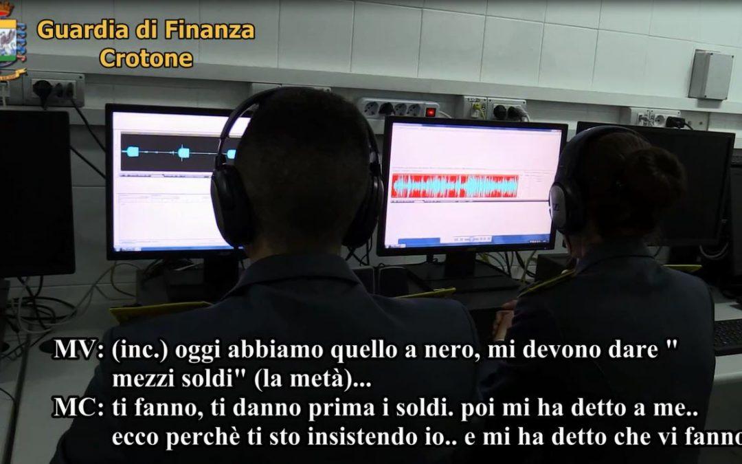 VIDEO – Scoperto contrabbando di falso gasolio  Le intercettazioni dell'operazione nel Crotonese